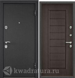 Дверь входная стальная Торэкс X3 Темно-серый букле графит/СК5-S Дуб угольный