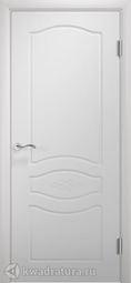 Межкомнатная дверь Двери и К 64 Прованс ДГ эмаль белая