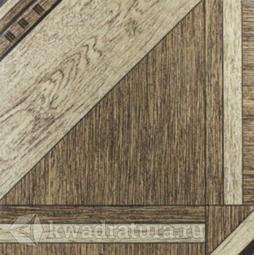 Напольная плитка Еврокерамика Лерида коричневая 3 LD 0011 40х40 см