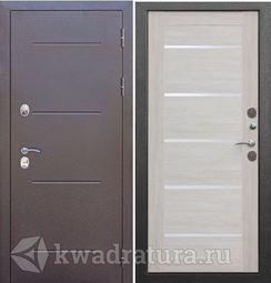 Входная дверь Феррони Изотерма 11 Cеребро/Лиственница беж