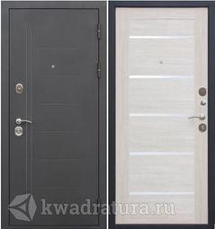 Входная дверь Феррони Троя 10 Серебро/Лиственница беж