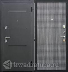 Входная дверь Феррони Гарда 7,5 Черный муар /Венге тобакко