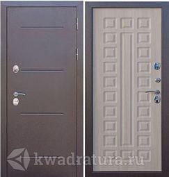 Входная дверь Феррони Изотерма 11 Медный антик/Лиственница Мокко