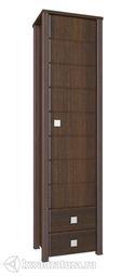 Шкаф Изабель-К одностворчатый орех ИЗ-15