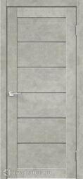 Межкомнатная дверь VellDoris Loft 1 Бетон светло-серый