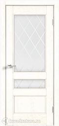 Межкомнатная дверь VellDoris Classico 3V Белый ясень
