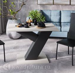 Стол обеденный Рейн тип 1 Фон черный/Каттхилт