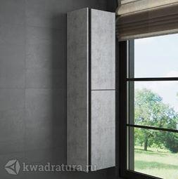 Пенал для ванной Comforty Эдинбург 40 светлый бетон
