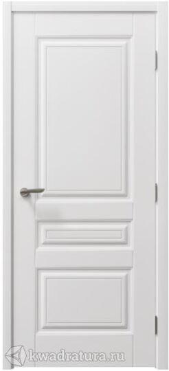 Межкомнатная дверь  Крокус Лайт эмаль белая