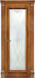 Межкомнатная дверь Магнолия 4 ДО Дуб Антико