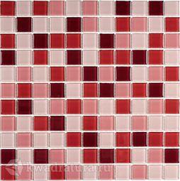 Мозаика стеклянная Bonaparte Plum mix 30х30