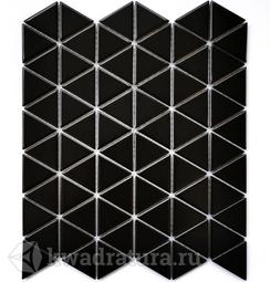 Мозаика керамическая Bonaparte Reno black (Matt) 25,2х29,1
