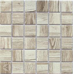 Мозаика керамогранитная Bonaparte Wooden light 30,6х30,6