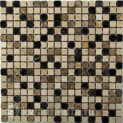 Мозаика каменная Bonaparte Turin 15 30,5x30,5