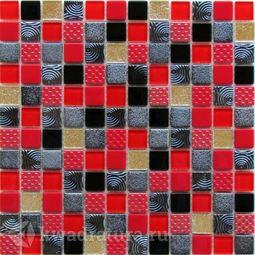 Мозаика стеклянная Bonaparte Poker 30х30
