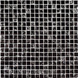 Мозаика стеклянная Bonaparte Strike black 30x30