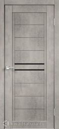 Межкомнатная дверь VellDoris Next 2 Муар светло-серый