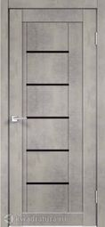 Межкомнатная дверь VellDoris Next 3 Муар светло-серый