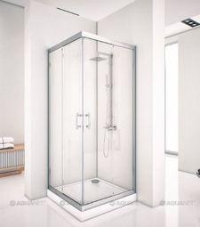 Душевой уголок Aquanet Alfa Cube NAA1142 90x90 прозрачное стекло