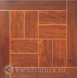 Напольная плитка Axima Паркет с металлизацией Дуб 32,7х32,7 см