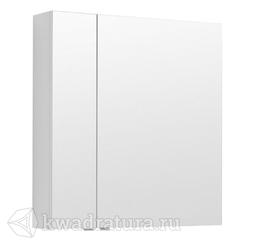 Зеркало-шкаф Aquanet Алвита 80 белый