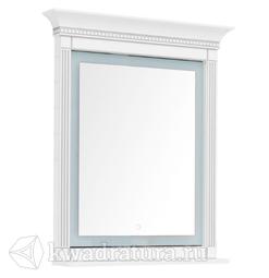 Зеркало Aquanet Селена 90 белый/серебро